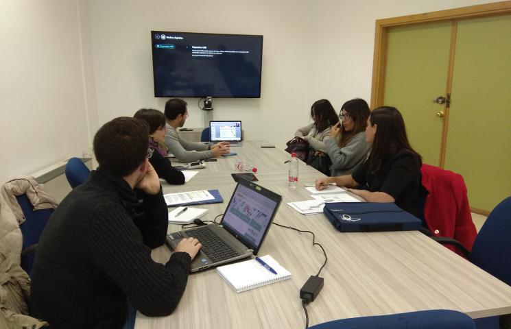 reunión lanzamiento proyecto ACUINTEG