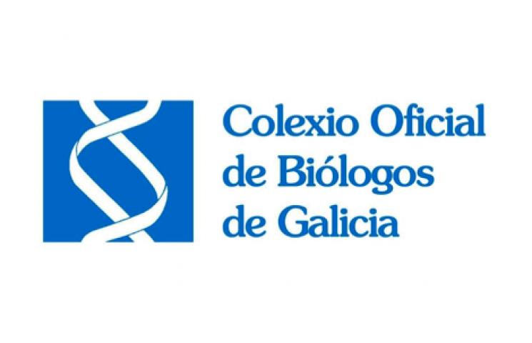logotipo colegio oficial de biologos de galicia